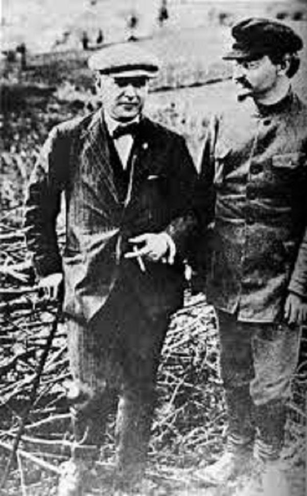 Ρακόφσκι και Τρότσκι