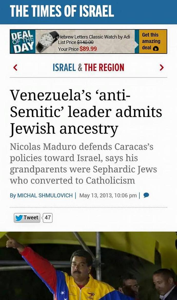 Κάτω ὁ Maduro;3