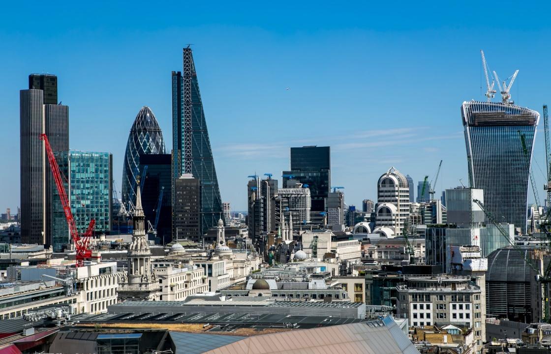 Τὸ City τοῦ Λονδίνου...