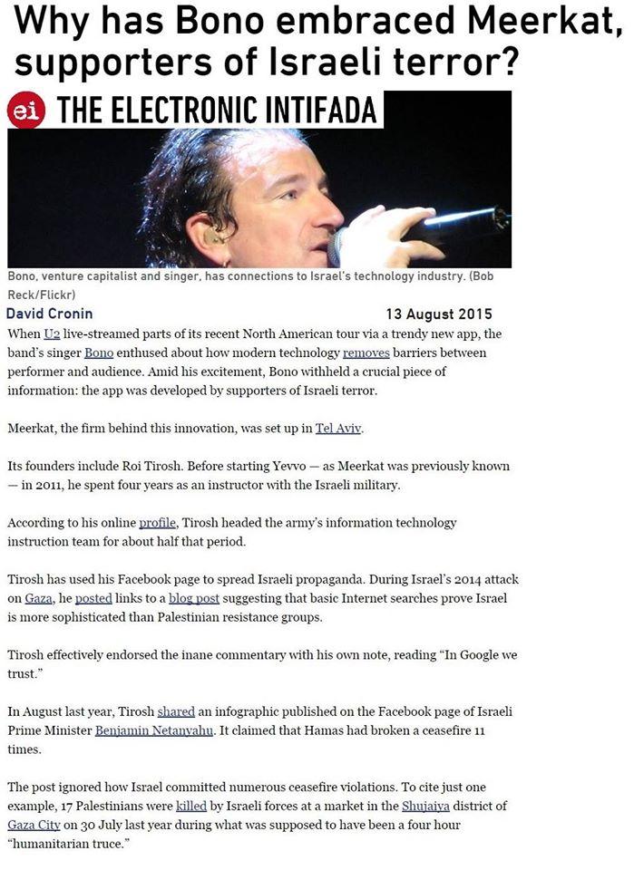 Ὁ Bono τῶν U2...1