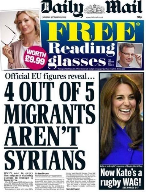 Οἱ τέσσερις στοὺς πέντε πρόσφυγες ΔΕΝ εἶναι Σύριοι!!!1