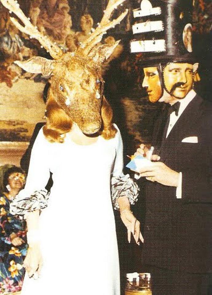 Η Βαρόνη Marie-Hélène de Rothschild και ο βαρώνος Alexis de Rede