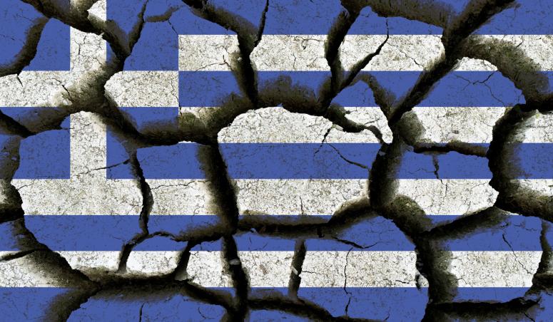 Greece flag.