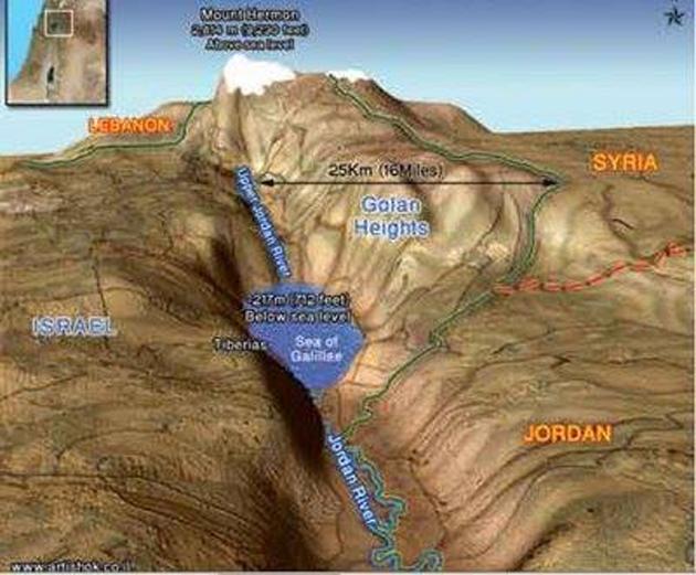 Βρέθηκαν τεράστια κοιτάσματα στὸ Ὑψίπεδον τοῦ Γκολάν, βάσει ἰσραηλινῶν ΜΜΕ.