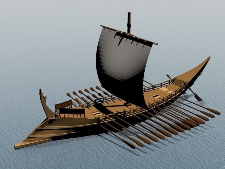 Σάμαινες, τὰ πλοῖα τῶν Σαμίων5
