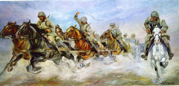 Τὸ μόνον ποὺ μᾶς ἀπομένει εἶναι νὰ κληθοῦμε σὲ πόλεμο...