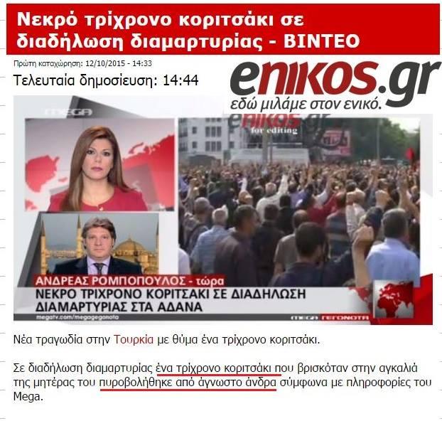 Τὸ ...«ὑπὸ διάλυσιν» κράτος τῆς Τουρκίας!