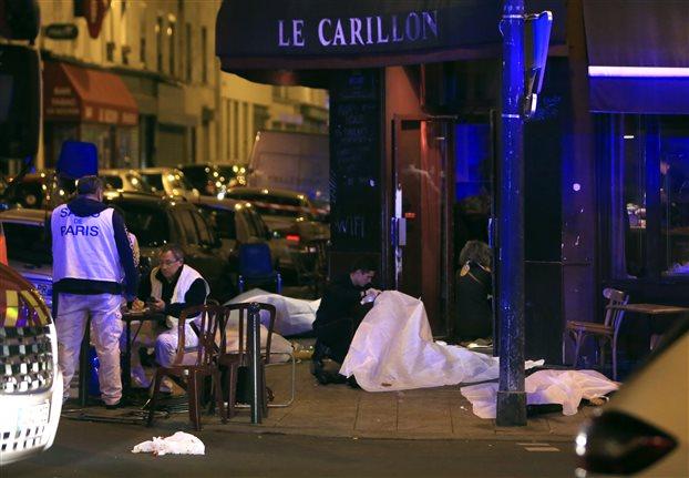 Τὸ αἱματοκύλισμα στὸ Παρίσι κι ὁ Τρόμος
