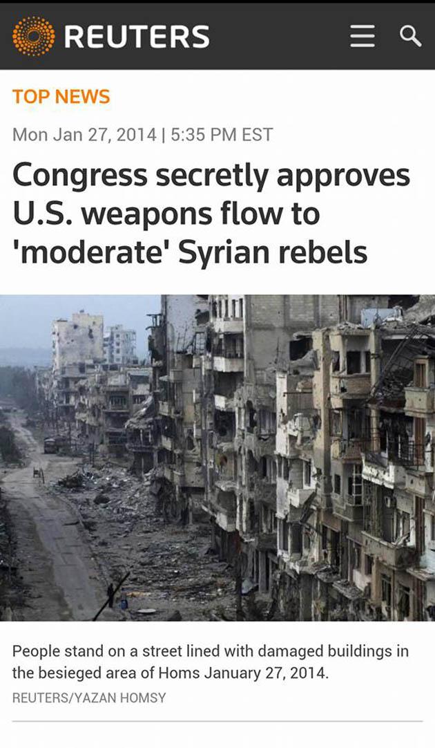 Ἔως καὶ ἀντιαρματικοὺς πυραύλους παρέδωσαν οἱ ΗΠΑ στὴν ISIS!!!1