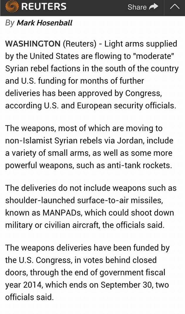 Ἔως καὶ ἀντιαρματικοὺς πυραύλους παρέδωσαν οἱ ΗΠΑ στὴν ISIS!!!2