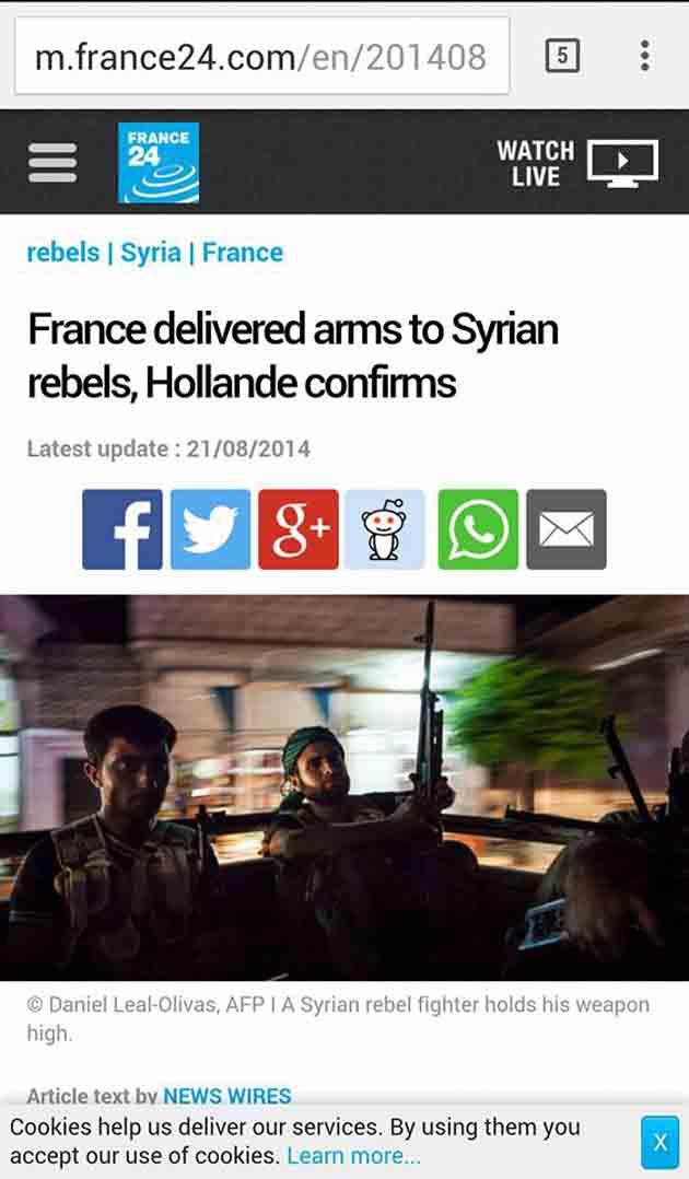 Ἡ ISIS δολοφονεῖ ἀθώους στό Παρίσι ὡς ἀντίποινα;1