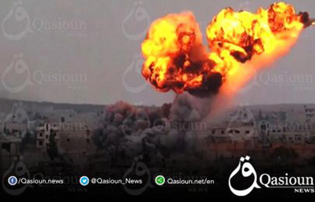Ποιᾶς χώρας τά ἀεροσκάφη κτύπησαν βάσιν τοῦ Συριακοῦ Στρατοῦ;
