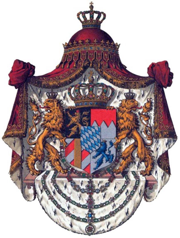 Σύμβολα καὶ οἰκόσημα...4 Γερμανία Βαυαρία καὶ Ὄθων Μπάγερν