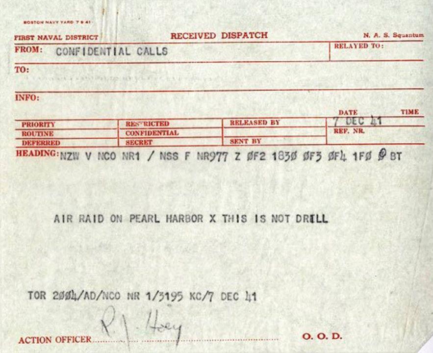 Τί μᾶς θυμίζει ἡ ἐπίθεσις στό Pearl Harbor στίς 7 Δεκεμβρίου 1941;