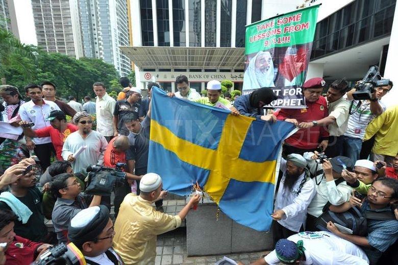 Οἱ μουσουλμάνοι ἐκτοπίζουν τοὺς Σουηδούς!!!