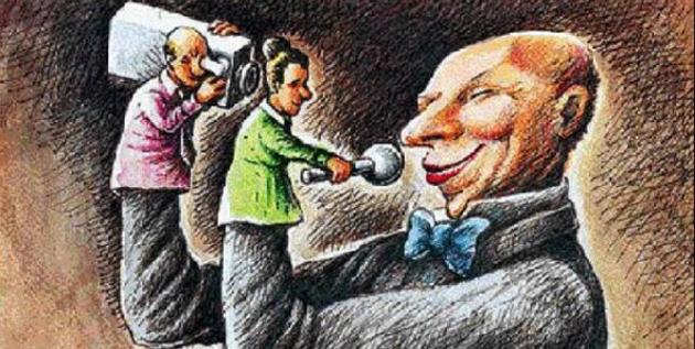 Οἱ δημοσιογράφοι παίζουν τό παιχνίδι τῆς κυβερνήσεως;