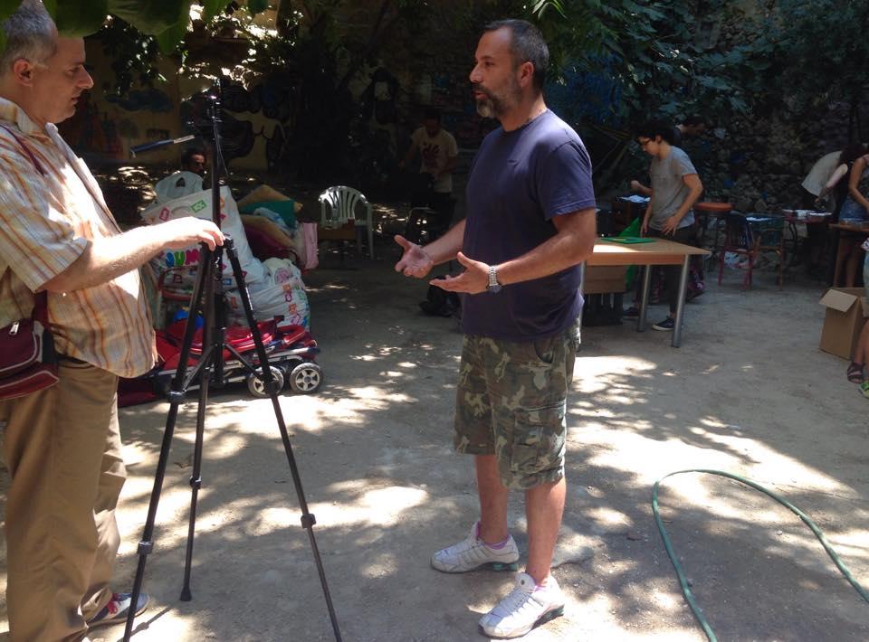Συνέντευξη στο Al Jazeera