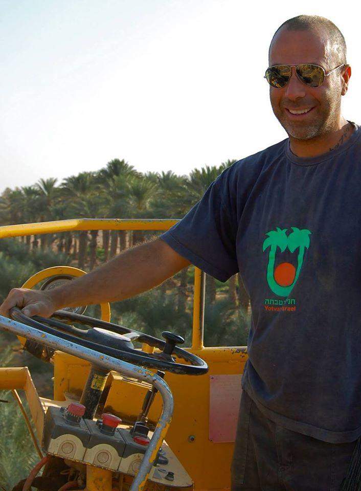 Kibbutz Yotvata Date Fields, Arava Desert, South Israel Jun 13