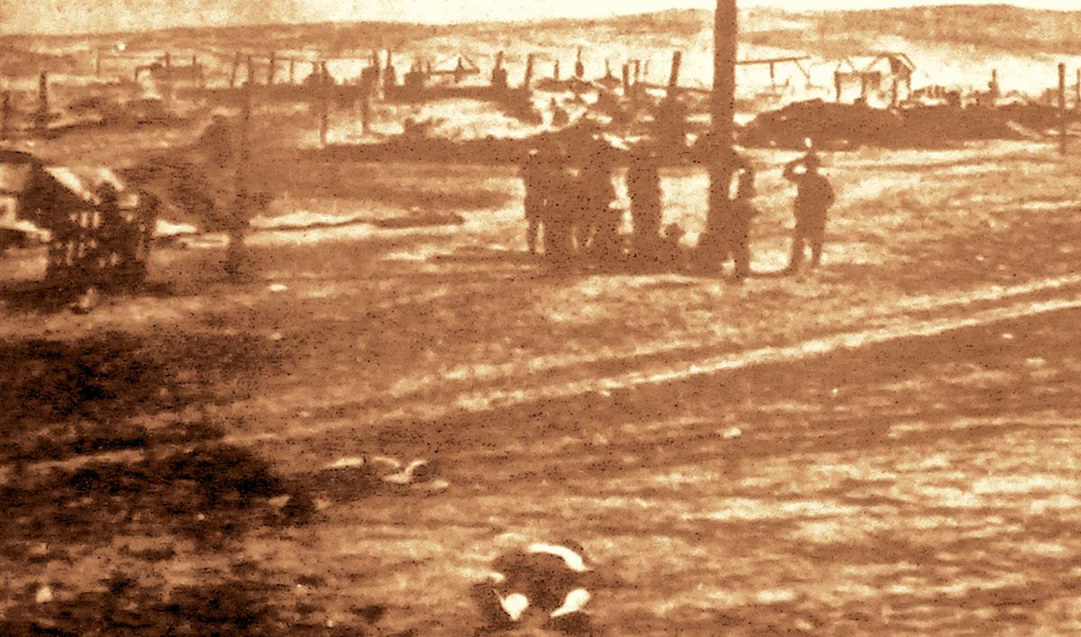 Επί τρεις ημέρες το πτώμα του Τίκα εκείτετο στην κοιλάδα του Λάντλοου χωρίς να επιτρέπεται σε κάποιον να πλησιάσει.