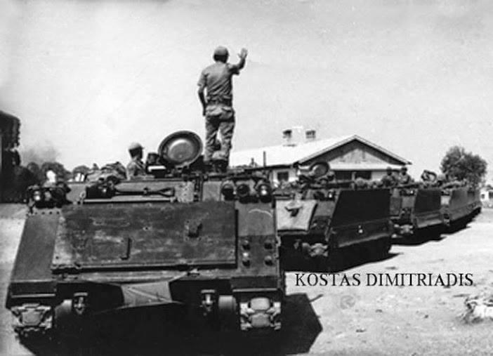 Φάλαγγες τουρκικῶν ἁρμάτων στὴν Κύπρο...