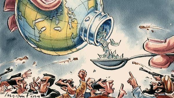 Το θέμα των χρεών θα δημιουργήσει εντάσεις στον πλανήτη που θα μπορούσαν να εξελιχθούν σε διακρατικές συγκρούσεις και σε πολέμους – ενώ το ίδιο ισχύει για το ευρώ, αφού παράγει συνεχώς χρέη και ανισότητες