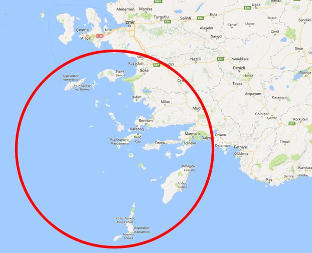 Νησιά μας ποὺ διεκδικεῖ ἡ Τουρκία