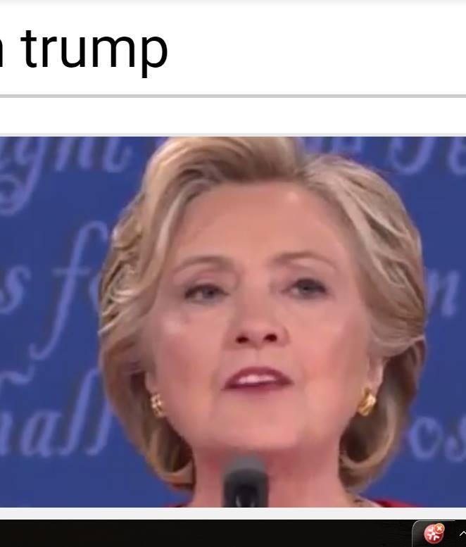 Η σωσίας της κας Κλίντον ή η ίδια;