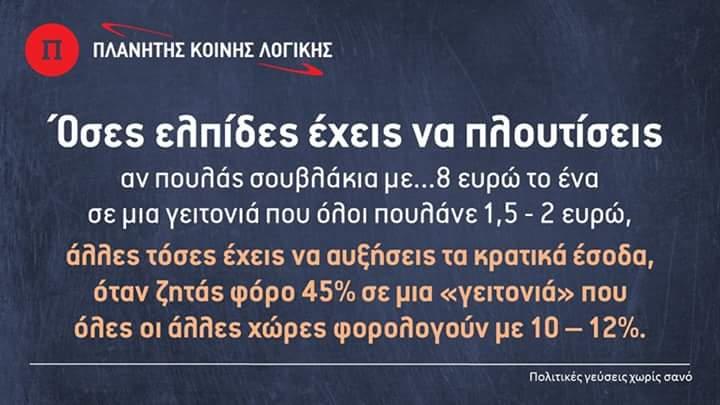 Χάνοντας καὶ ἀπὸ ἀνταγωνιστικότητα!!!