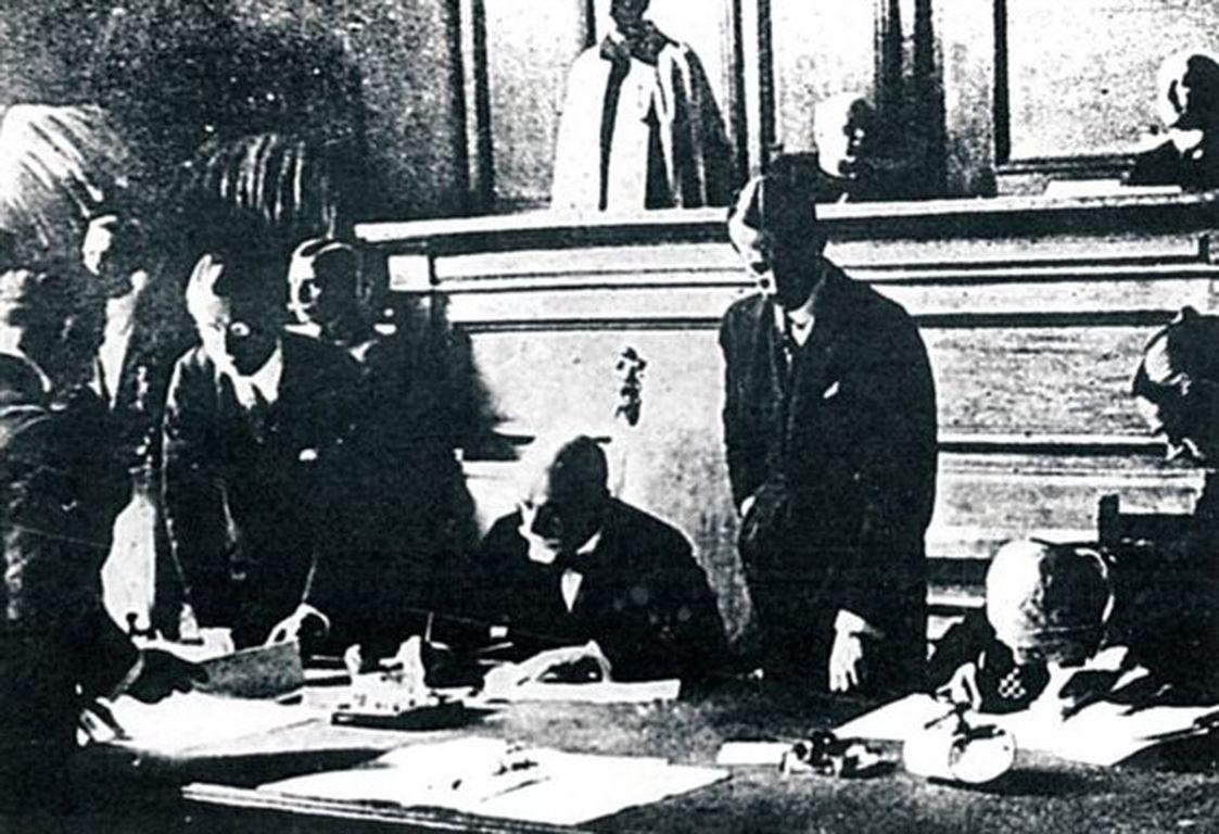 Φανφάρες ἡ ἐπαναδιαπραγμάτευσις τῆς συνθήκης τῆς Λωζάννης