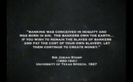 Δημιουργοὶ χρήματος ἰδιῶτες, δημιουργοὶ σκλάβων…