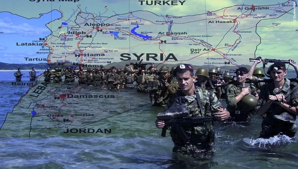 Ζήτημα χρόνου ἡ ἀπόβασις στήν Συρία