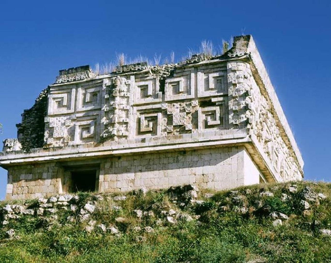 Παλάτι Grecas στὸ Μεξικό.