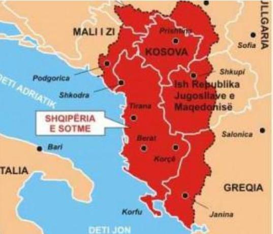 «Φυσική» Ἀλβανία καί «ἀνεξάρτητη» Θράκη4