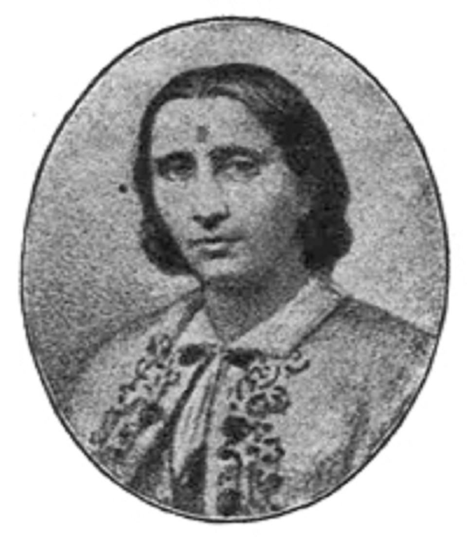 Καλλιόπη Σπ. Παπαλεξοπούλου. Φώτο από το « Ημερολόγιον του 1904, Κ. Φ . Σκόκου », Τόμ. 19, Αρ. 1, σελ. 241.
