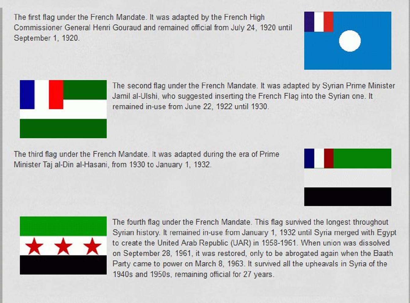 Οἱ τέσσερις σημαῖες τῆς Συρίας ποὺ ἀποκαλύπτουν...