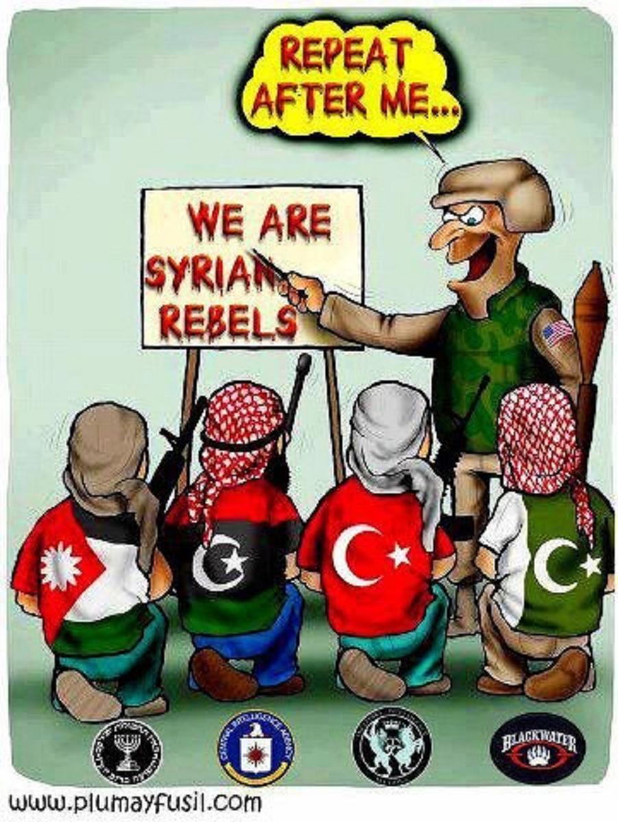 Τὰ χημικὰ τὰ ῥίχνει ἡ Τουρκία στὴν Συρία.2
