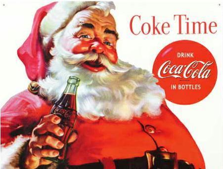 Τὸ δημιούργημα τῆς coca cola ποὺ ἀποδεχθήκαμε ὥς Ἅη Βασίλη. 1