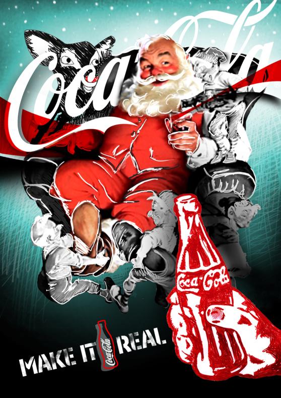 Τὸ δημιούργημα τῆς coca cola ποὺ ἀποδεχθήκαμε ὥς Ἅη Βασίλη. 2
