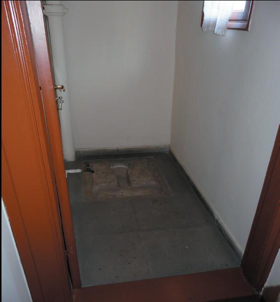 Ἡ τουαλέτα τοῦ Κεμᾶλ.