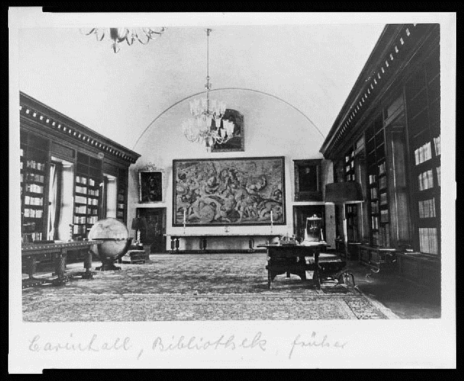 Karinhall,library