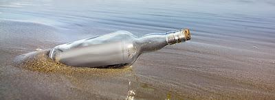 Ἕνα γράμμα στό μπουκάλι...