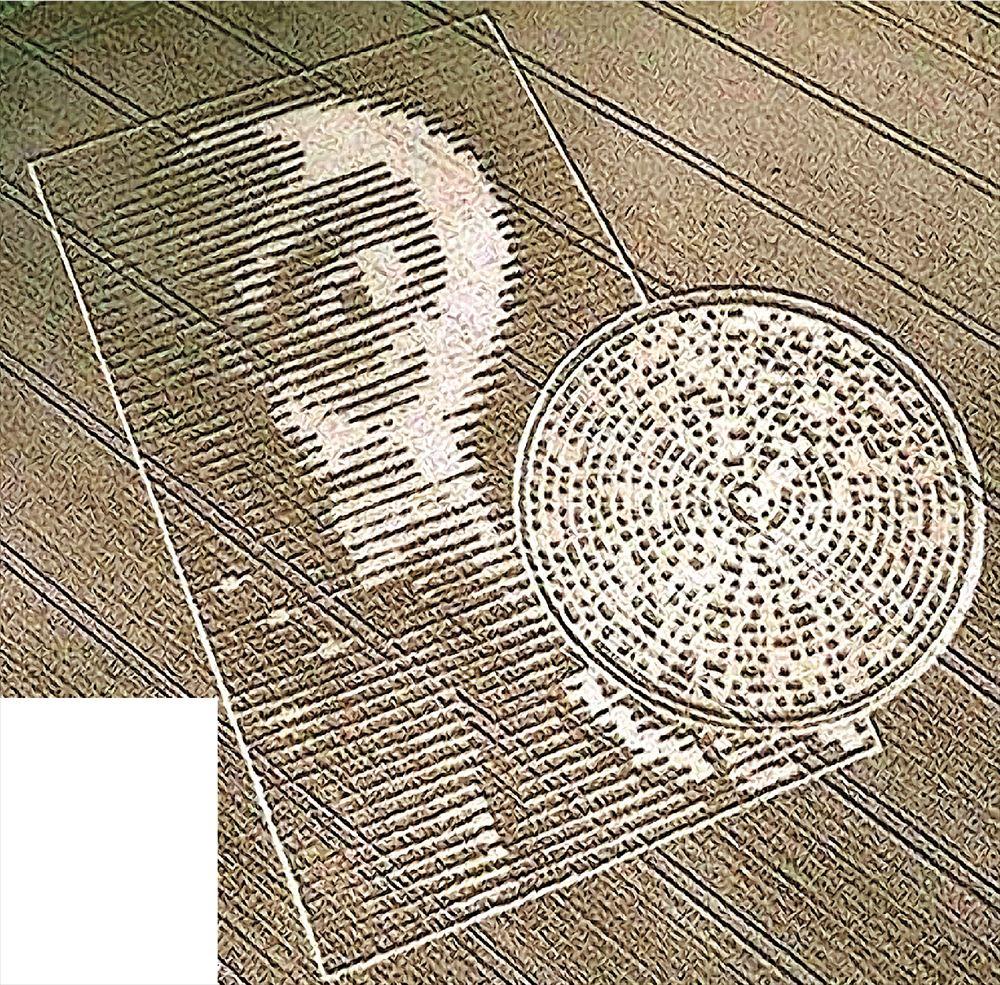 Τα σχέδια στις σοδειές του Αshbury Wiltshire της Αγγλίας εμφανίζουν το ημερολόγιο των Μάγια «εμπλουτισμένο» με αστρονομική σύνοδο πλανητών του 2012. «Υποπτη» αλλά και ανατριχιαστική η ταύτιση των «εξωγήινων» με την καταστροφολογία των Μάγια...