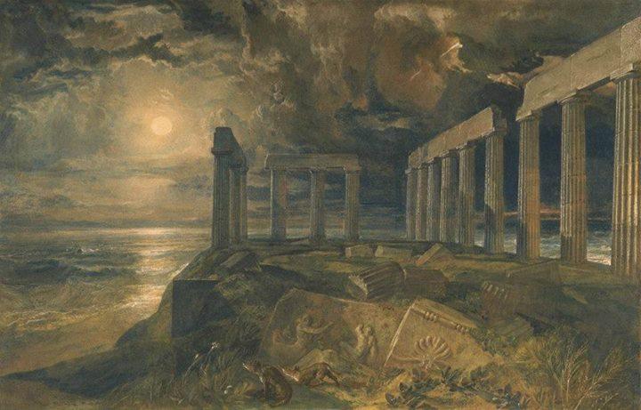 Ναὸς Ποσειδῶνος, Σούνιο.