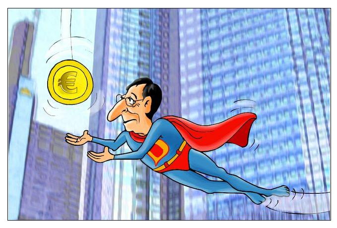 Τὸ εὐρὼ ἕναν χρόνο μετὰ ἀπὸ τὴν ἐπέμβασι  Draghi2