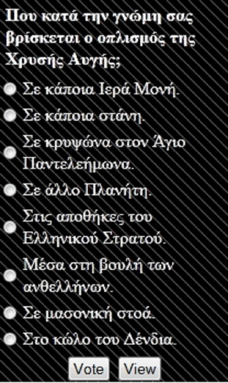 Ποῦ κρύβεται ὁ ὁπλισμός τῆς Χρυσῆς Αὐγῆς;2