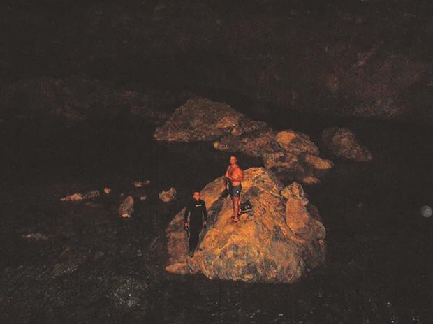 Ἀνεκαλύφθῃ ἐξαιρετικῆς ὀμορφιᾶς σπήλαιον στὴν Κρήτη.2