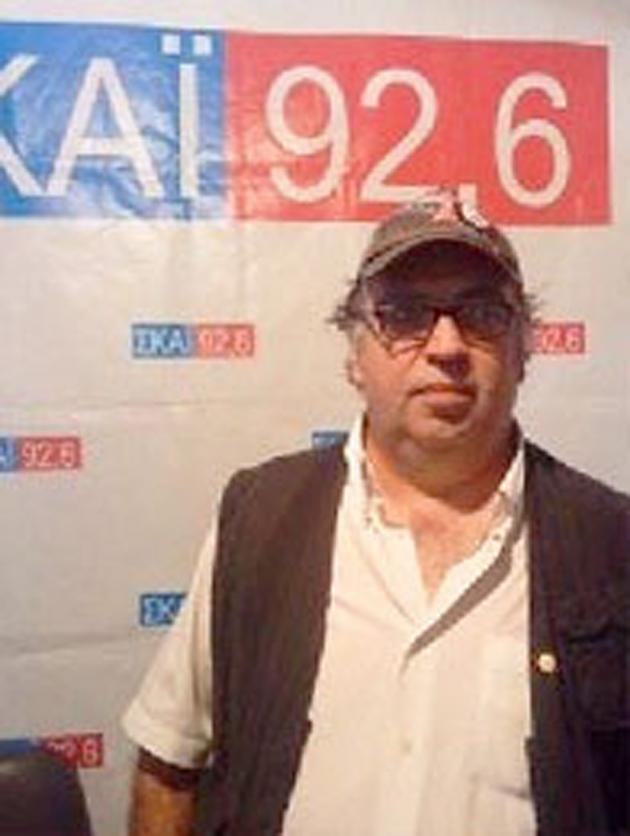 Ο δημοσιογράφος Άκης Ρούσος του ΣΚΑΙ Πιερίας