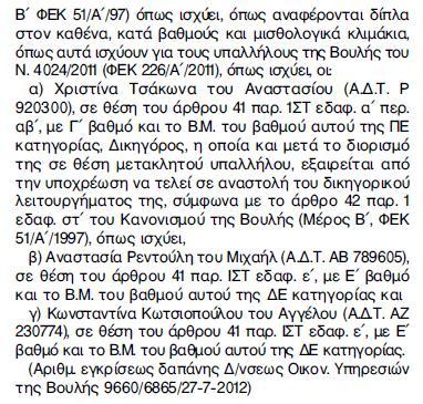 Ἀκόμα καί οἱ, Καμμένος, Μιχαλολιάκος βόλεψαν τά «δικά» τους παιδιά11