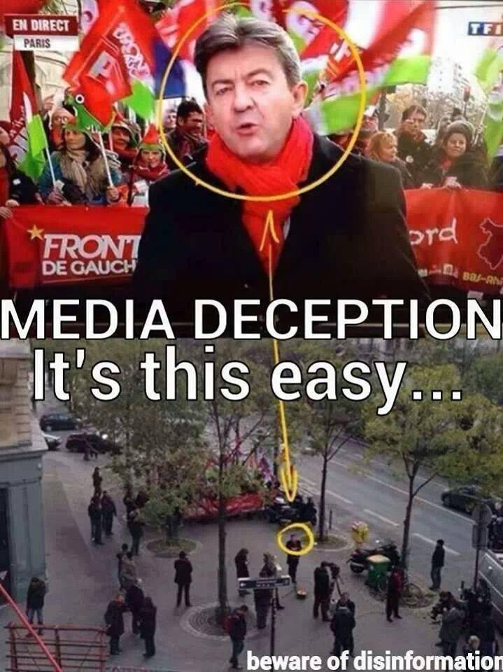 Ἀκόμη μία ψεύτικη διαδήλωσις...