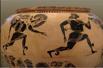 Τὸ ὁμόπλευρον τρέξιμον τῶν ἀρχαίων Ἑλλήνων.4